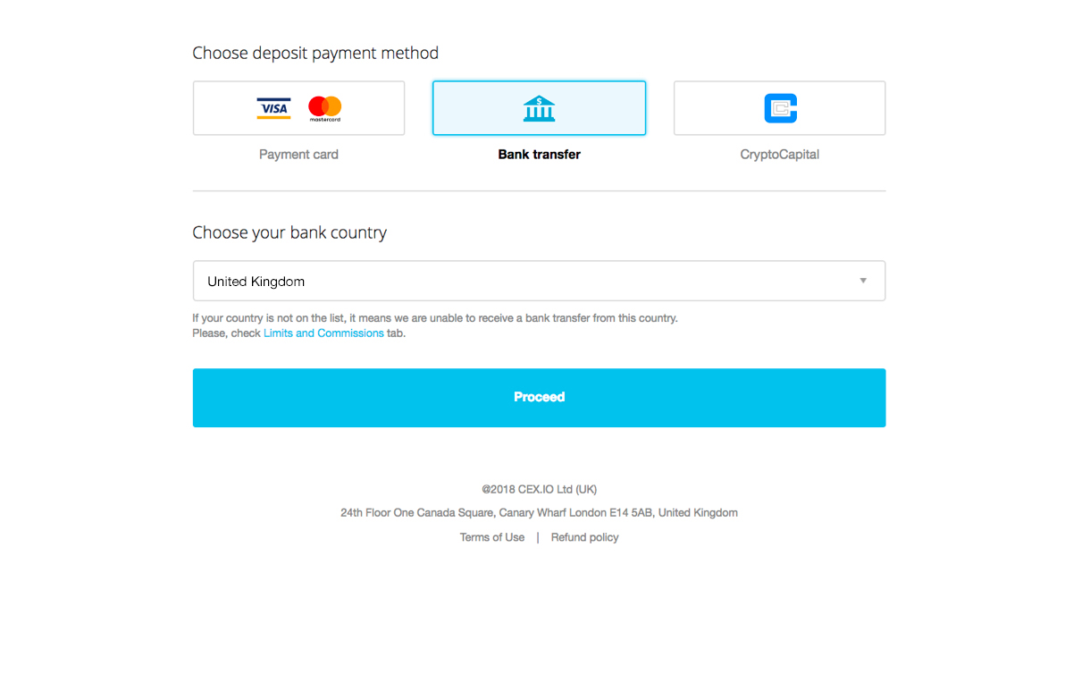 Use Reliable Wire Transfers on CEX IO